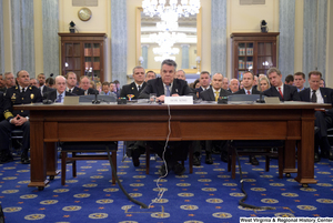 "[""Representative Peter King testifies before the Senate Commerce Committee at a hearing titled \""Safeguarding Our Future: Building a Nationwide Network for First Responders.\""""]%"