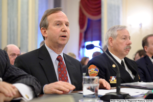 "[""Delaware Governor Jack Markell testifies at a Commerce Committee hearing titled \""Safeguarding Our Future: Building a Nationwide Network for First Responders.\""""]%"