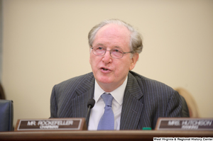 "[""Senator John D. (Jay) Rockefeller chairs a Commerce Committee hearing titled \""Safeguarding Our Future: Building a Nationwide Network for First Responders.\""""]%"