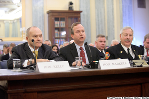 "[""New York City Police Commissioner Raymond Kelly, Delaware Governor Jack Markell, and North Las Vegas Fire Chief Al Gillespie testify at a Commerce Committee hearing titled \""Safeguarding Our Future: Building a Nationwide Network for First Responders.\""""]%"