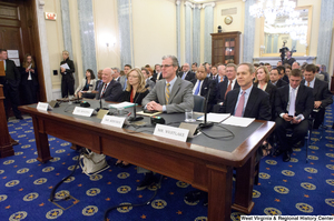 "[""Four individuals testify before the Senate Commerce Committee.""]%"
