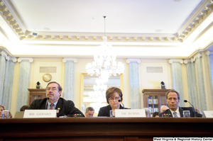"[""Mike Rowe and two others testify before the Senate Commerce Committee.""]%"