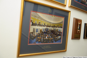 "[""A photograph of the 110th Congress hangs in Senator John D. (Jay) Rockefeller's office.""]%"