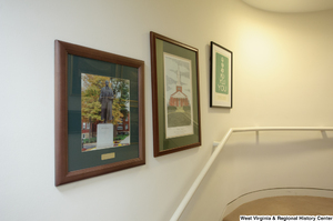 "[""Three photos hang in Senator John D. (Jay) Rockefeller's office.""]%"