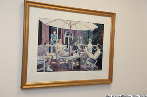 "[""A Rockefeller family photo hangs in Senator John D. (Jay) Rockefeller's office.""]%"