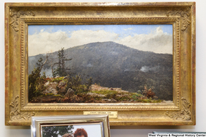 "[""A painting of Cheat, Virginia in 1859 hangs in Senator Rockefeller's office.""]%"