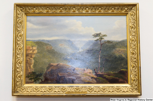 "[""A painting of New River's Gorge hangs in Senator John D. (Jay) Rockefeller's office.""]%"