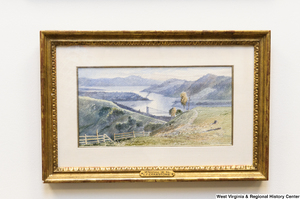 "[""A painting of a river landscape scene hangs in Senator John D. (Jay) Rockefeller's office.""]%"