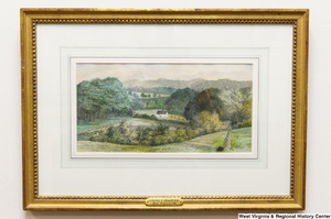 "[""A painting of a farmhouse landscape scene hangs in Senator John D. (Jay) Rockefeller's office.""]%"