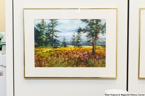 "[""This landscape painting hangs in Senator John D. (Jay) Rockefeller's office.""]%"