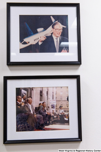 "[""Two photographs of Senator Rockefeller hang in his office.""]%"