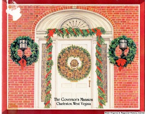 "[""The 1984 Rockefeller family holiday card reads, \""Joy and happiness to you and yours throughout the holiday season and the new year. We have enjoyed eight happy and productive years in the Governor's Mansion. Thank you for this wonderful opportunity to serve our state. With our very best wishes.\"" Pictured are Jay, Sharon, Valerie, Jaime (John), and Charles Rockefeller. On the front is a drawing of the Governor's Mansion, Charleston, West Virginia. On the back is the Great Seal of West Virginia.""]%"